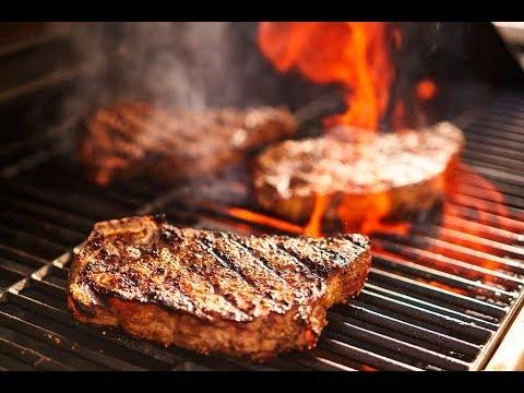 Perdida de peso cocinado carne asada