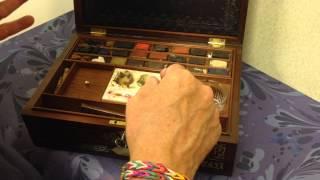 Regency Period Artist's Watercolour Box By R.ackermann