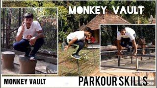 MONKEY VAULT 🐒PARKOUR SKILLS 💥FREERUNNING 💥ADVENTURE 💥MARTIAL ARTS💥SURVIVAL 💥