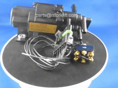 hqdefault 42 300p pollak light truck 6 port motor driven valve youtube pollak fuel selector valve wiring diagram at gsmx.co