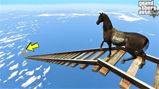 5 :      GTA 5 Trailways Ramp - Horse Parkour