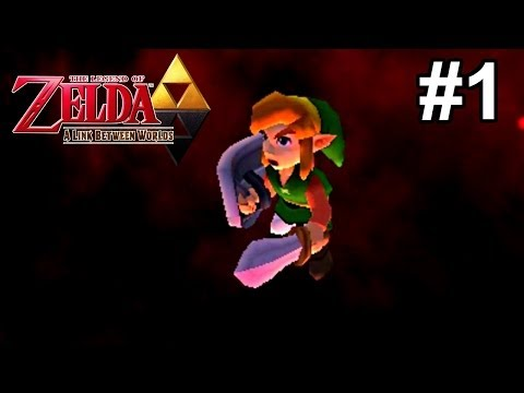 Let's Play TLoZ: A Link Between Worlds [Blind] - #1   Smooth Criminal