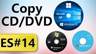 How to copy CD/DVD into PC (Hindi)