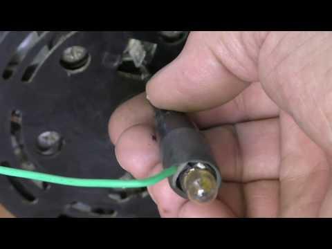 Почему  не горит лампа зарядки аккумулятора?  Полезный совет автоэлектрика ВЧ .
