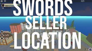 [NEW] SWORDS SELLER LOCATION ONE PIECE DESTINY | Roblox
