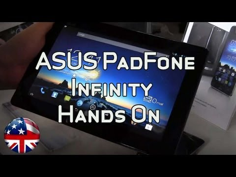 ASUS PadFone Infinity Hands On