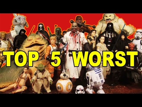 top 5 worst star wars black series 6 inch figures youtube. Black Bedroom Furniture Sets. Home Design Ideas