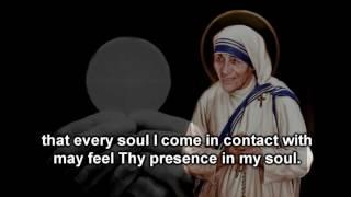 Night Time Prayer of Saint Mother Teresa of Calcutta