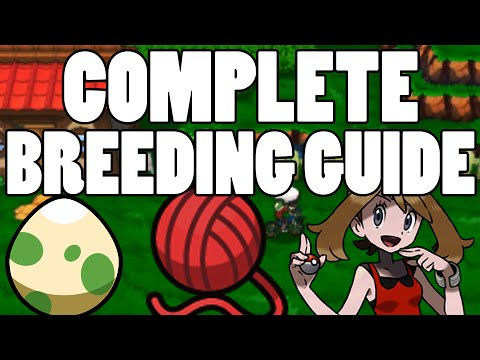 Complete Pokemon Breeding Guide Omega Ruby and Alpha Sapphire - Best ORAS Breeding Guide