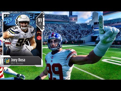 NEW LINE UP! DOMINATING NEW DEFENSE! - MADDEN NFL 18 GAMEPLAY