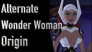 Alternate Wonder Woman Origin (Justice League: Gods And Monsters)