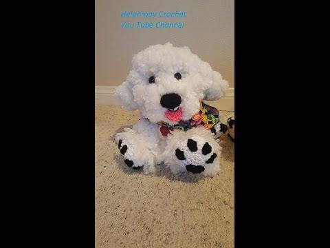 Crochet Red Dog Crochet Puppy Stuffed Puppy Stuffed Dog Amigurumi ... | 360x480