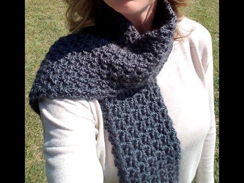 FREE Crochet Stormy Waters Infinity Scarf