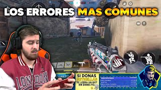 LOS ERRORES MAS COMUNES EN RANKED COD MOBILE CALL OF DUTY MOVIL