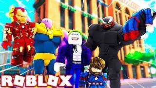 ROBLOX SUPER VILLIAN SIMULATOR! *BECOME ANY VILLIAN TO BATTLE SUPER HEROES!*