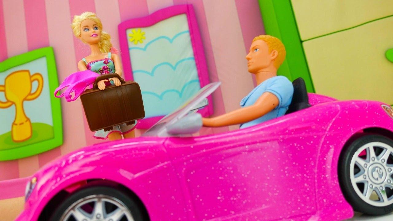 Барби и Кен - куклы собираются в отпуск - Игры для девочек ...