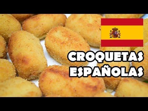 Cómo hacer croquetas españolas - YouTube  Cómo hacer cro...