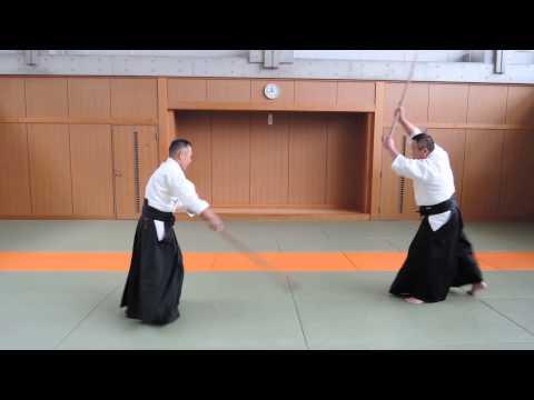 31の組杖 31kumijo Iwama style.