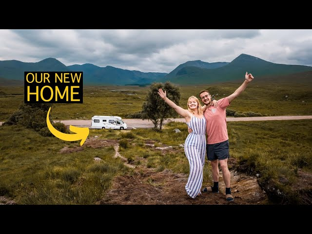 fulltime vanlife is happening! | MOVING IN DAY