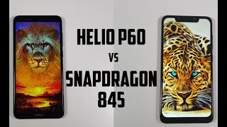 Helio P60 vs Snapdragon 845 Speed test/Comparison/Nokia X5 vs Pocophone F1