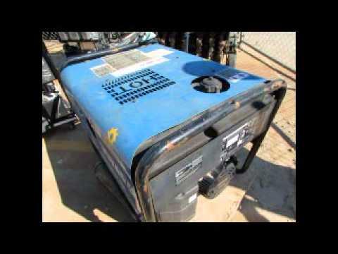 For Sale 2011 Miller Blue Star 185 Cc Dc Welder Generator