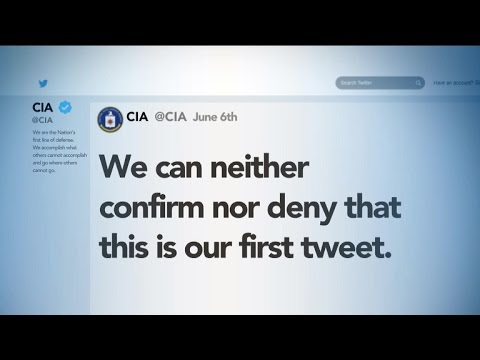 CIA turns to Twitter to connect with the world