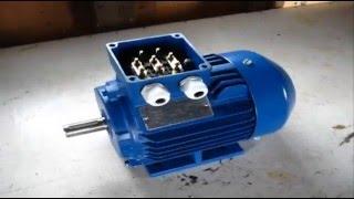 Купил новый электродвигатель АИР. Обзор двигателя АИР80