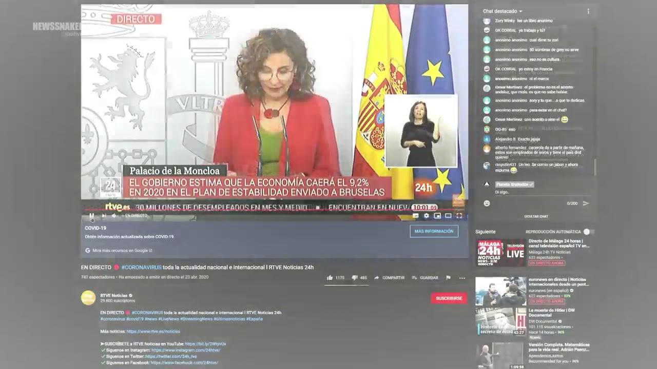 En directo, Ministra Española habla del NUEVO ORDEN MUNDIAL