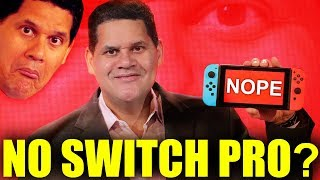 Reggie Fils-AIme Dashes Hopes Of A Nintendo Switch Pro. Or Does He?