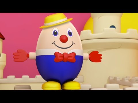 Humpty Dumpty Sat On A Wall | Nursery Rhymes For Kids | Baby Songs | Children Rhyme
