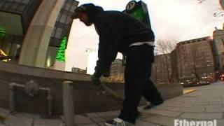 Ethernal Skate Films/ Rasta Man & Max Côté: Cold day sk8 session /  Winter Skateboarding Montreal