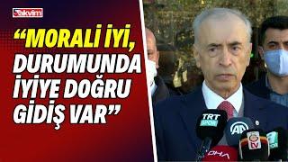 Mustafa Cengiz: Omar Elabdellaoui'nin morali iyi, durumunda iyiye doğru gidiş var