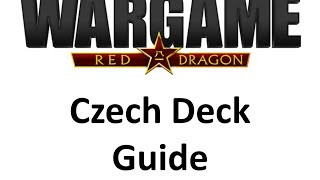 Wargame Red Dragon - Czech deck
