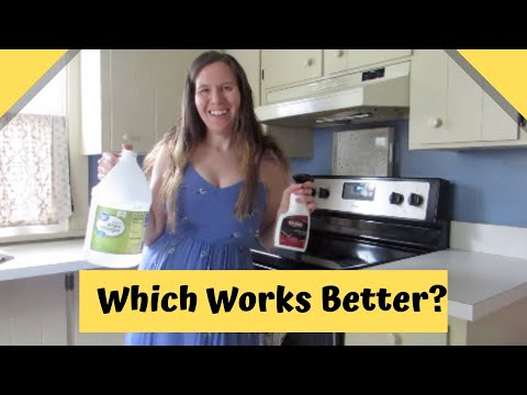 Cleaning Routine: Battle of the Stove Cleaners