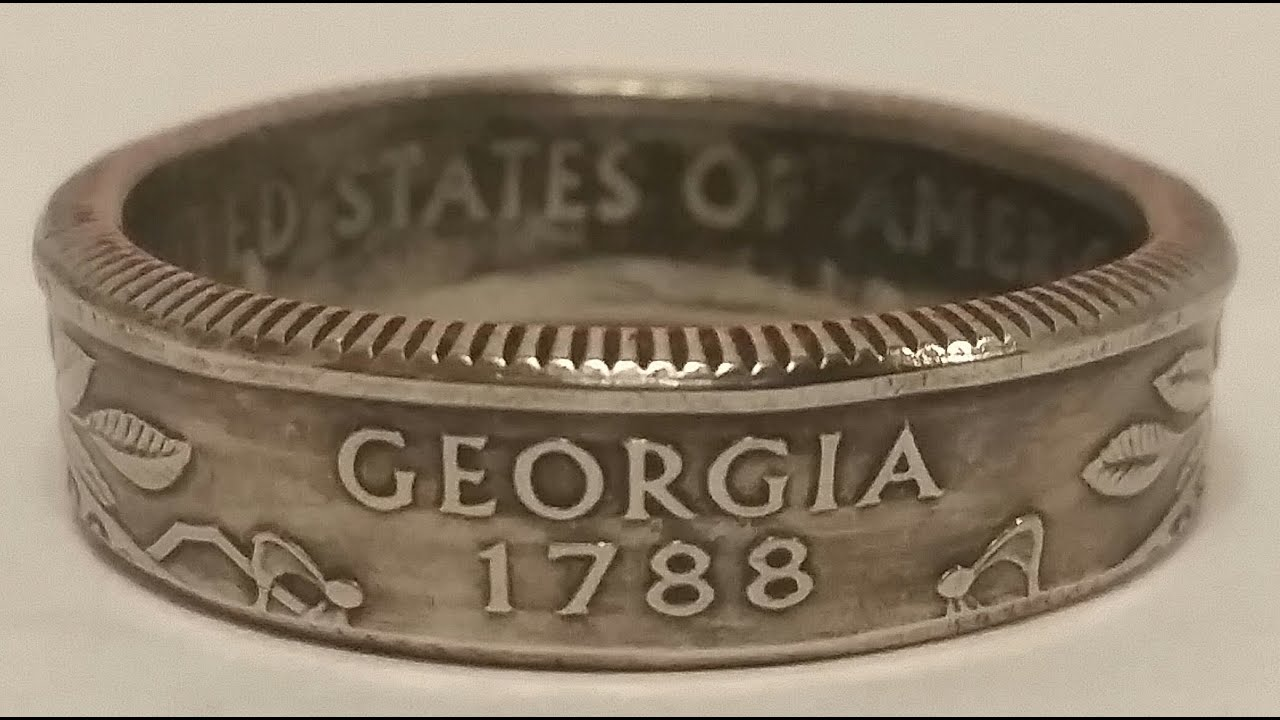 How to make a coin ring for cheap with FORGED: Coin Ring Making for  Beginners