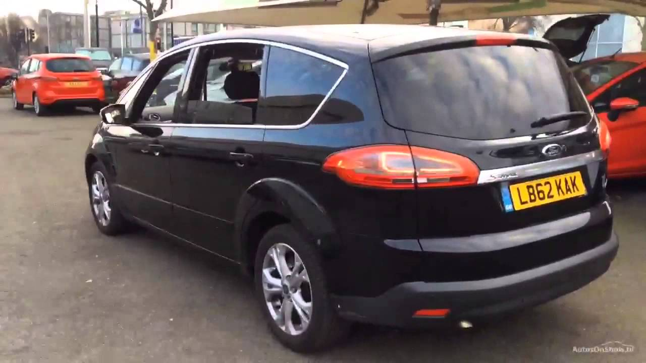 ford s max titanium tdci black 2013 youtube. Black Bedroom Furniture Sets. Home Design Ideas