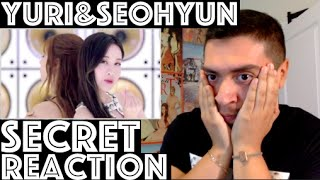 YURI & SEOHYUN Secret MV Reaction