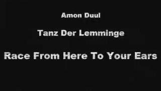 amon duul ii - race from here to your ears