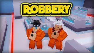 ROBBING THE JEWELRY STORE! (ROBLOX Jailbreak)