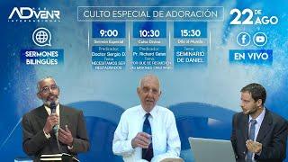 Sábado especial 22/08/2020 - Dr. Sergio Decena y Pr. Richard Gates
