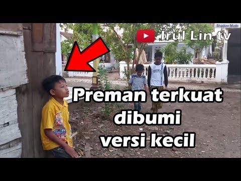 Preman Terkuat Dibumi Versi Kecil Maell Lee - Polotan Ceria - Komedi - IRUL LIN Tv