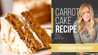 Carrot Cake Recipe W Secret Ingredient