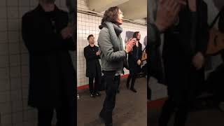Hozier in NYC Subway /6 March 2019/full good quality