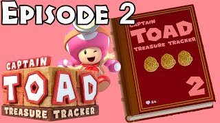 Captain Toad: Treasure Tracker - Episode 2 All Levels All Gems/Bonus Objectives
