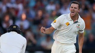 From the Vault: Hazlewood takes Test cricket's first pink-ball five-fa