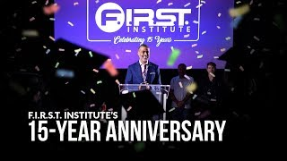 Cover images F.I.R.S.T. Institute's 15-Year Anniversary