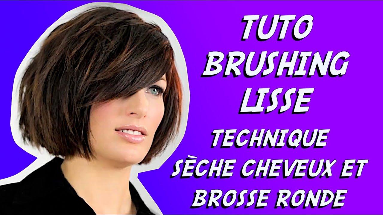 Brushing Lisse Initiation Coiffure Youtube