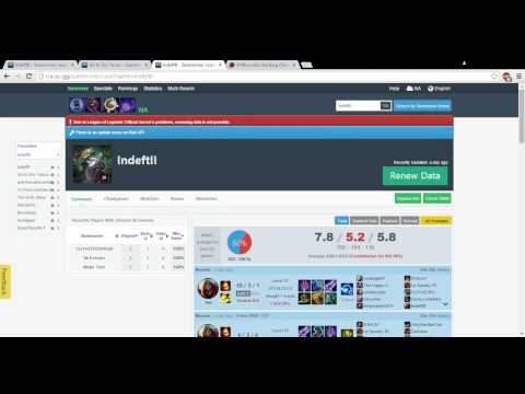 IndeftII   Summoner search results    League of Legends LOL Search Summoner Stats   Google Chrome 8