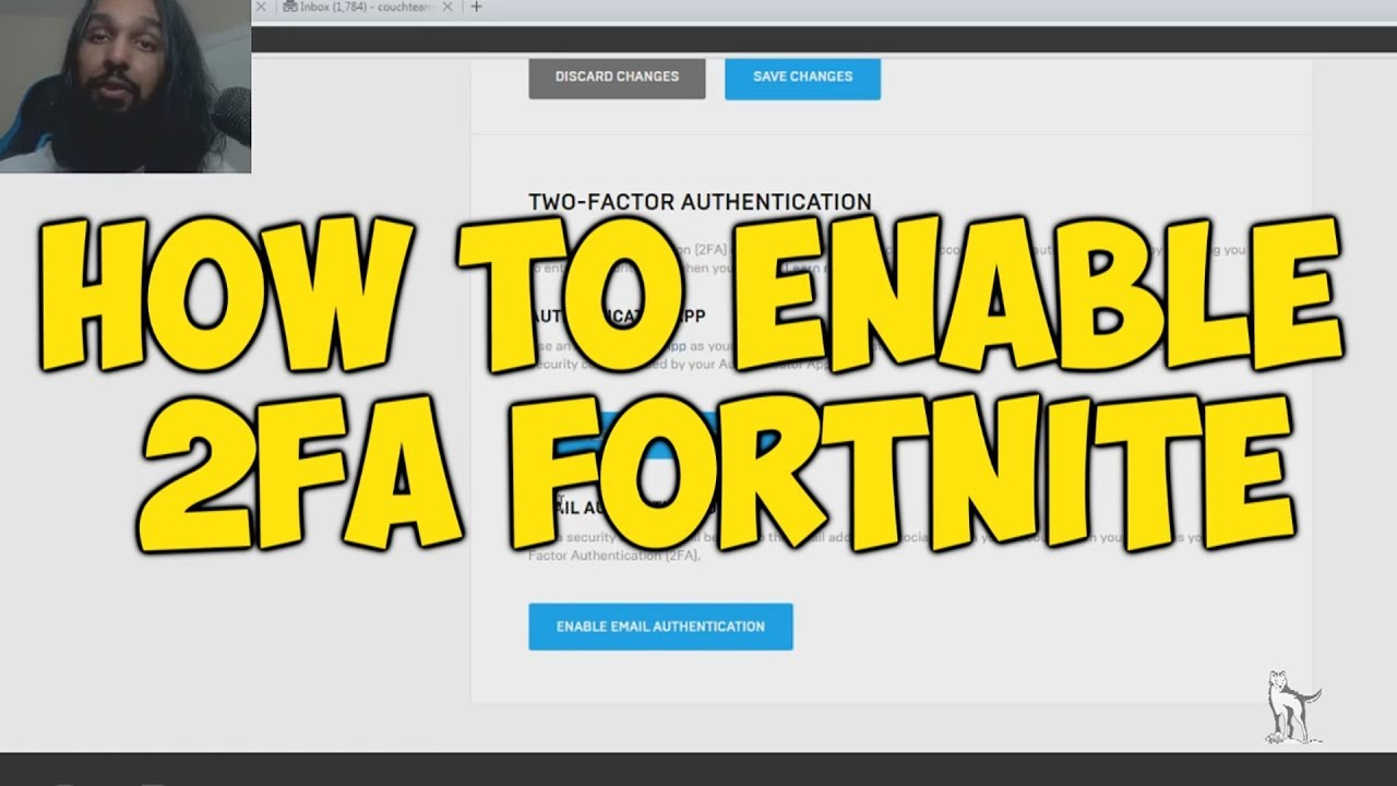 How To Enable 2FA In Fortnite (Two Factor Authentication ...