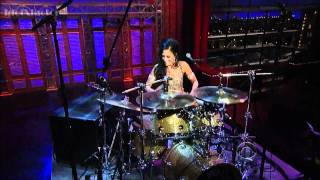 Sheila E. SOLO DE BATERIA com a Orquestra CBS David Letterman HD